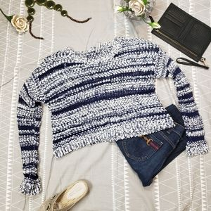 Design Lab Cropped Sweater